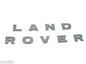 Genuine New Brunel Grey LAND ROVER BONNET BADGE For Freelander 2 2006-2014 L359