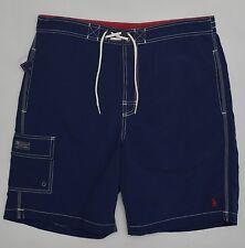 Men's POLO RALPH LAUREN Navy Blue Swimsuit Trunks XXL 2XL NWT NEW Nice! 4177633