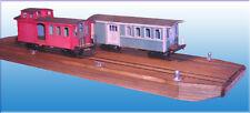 88' RAIL BARGE On30 Model Railroad Waterline Hull Ship Boat Laser Wood Kit DF602