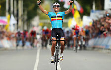 PHILIPPE GILBERT TEAM BMC 2012 WORLD ROAD RACE CHAMPION CELEBRATION POSTER