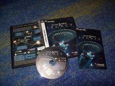 Star Trek Legacy PC successeur Tchékov Command 3 avec manuel