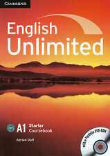 Cambridge ENGLISH UNLIMITED STARTER Coursebook with e-Portfolio DVD-ROM @NEW@