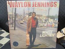 WAYLON JENNINGS White Lightnin LP Feat;Buddy Holly Don't think twice Big Mamou