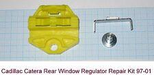 Cadillac Catera 97-01 Rear Window Regulator Repair Kit Lifter Winder - L/R