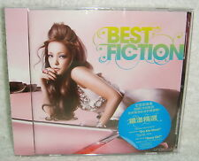 J-POP Namie Amuro Best Fiction Taiwan CD+DVD