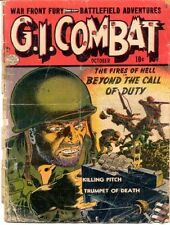 GI COMBAT COMICS GOLDEN AGE COLLECTION PDF ON DVD