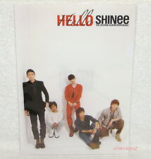 Korea SHINee Vol. 2 LUCIFER Hello Taiwan Promo Folder (ClearFile)