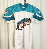 RARE VTG 1995 CFL Starter Birmingham Barracudas Cudas Fab Knit Men's XL Jersey