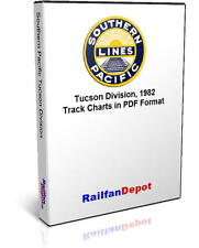 Southern Pacific Tucson Division Track Chart 1982 - PDF on CD - RailfanDepot