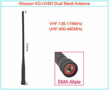 Original WOUXUN Antenna KG-UV8D SMA-Male 144/430MHz Two-way Radio Walkie Talkie