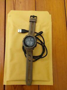 Garmin Instinct Watch– Tactical Edition Tan GPS