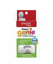 LOT OF 8 - Playtex Carbon Filter Refill Tray for Diaper Genie Diaper Pails White