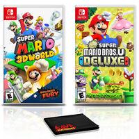 Super Mario 3D World + Bowser's Fury with  Super Mario Bros U - Nintendo Switch
