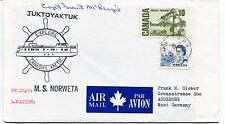 1973 Norweta Canada Polar Antarctic Cover SIGNED