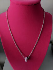 Necklace made with Swarovski Crystal Passions Pave Bead