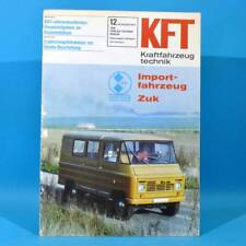 DDR KfT Kraftfahrzeugtechnik 12 1978 Zuk Citroen Visa Mercedes T-Reihe Mustan 60