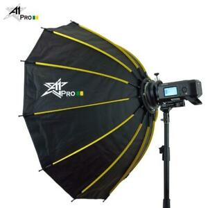 A1Pro 12K Round Shape Quick Open 105cm SoftBox with Grid & Bag (Bowens)