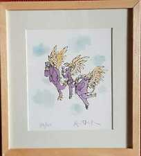 Sir Quentin Blake, original limited edtion signed print