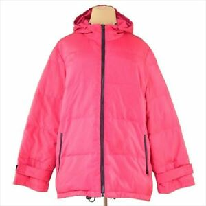 Dolce&Gabbana Coats Jackets Pink Black Down Feather Woman Authentic Used G1317