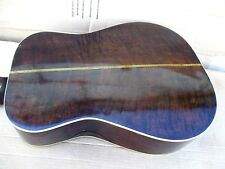 80's S.L. GILES ACOUSTIC - handmade in USA - SOLID TOP, BACK & SIDES