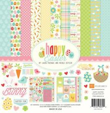 Echo Park - Happy EASTER 12x12 Scrapbook Kit Papers + Stickers Bunny Eggs
