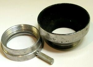 33mm series 5 V Metal Lens Hood Shade slip on type clip on type