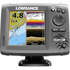 Lowrance Hook-5 Fishfinder/Chartplotter - Med/High/DownScan w/Built-In GPS