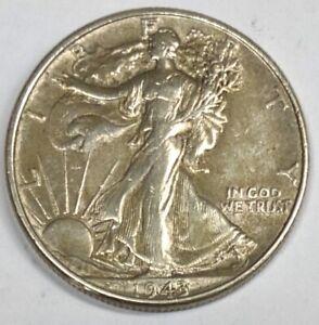 1943-P Walking Liberty Half Dollar Extremely Fine