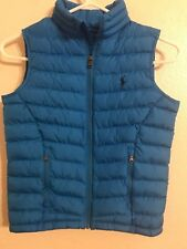 """Boy's POLO RALPH LAUREN """" Horizon Bl"""" Lightweight Puffer Vest (Size: S/8)"""