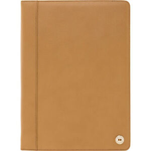 OROTON Melanie Pebble A4 Folio New Leather Caramel Tags RRP$295