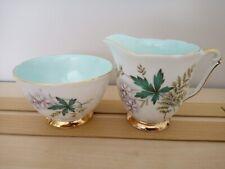 👑 👑  Queen Anne Louise Milk jug and sugar bowl 👑 👑