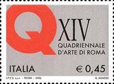 Italia 2005 XIV  Esposizione quadriennale di Roma  MNH