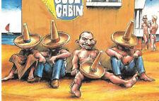 1990 LGBT Gay Leather Bear Male Room Latin Bona Boner 4 x 6 Postcard UK Import