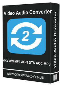 Video Audio Converter From - MKV AVI MP4 AC-3 DTS ACC MP3 Instant Download