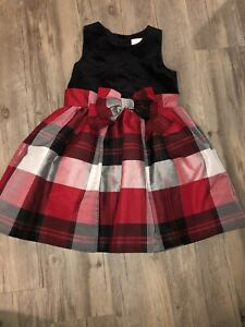 DRESSED UP BY GYMBOREE GIRLS PARTY/CHRISTMAS DRESS SIZE 4T