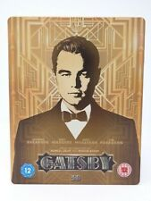 The Great Gatsby 3D Limited Edition Steelbook Blu-ray Blu Ray 2-Disc Set