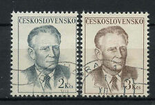 Czechoslovakia 1967 SG#1704-5 President Novotny Cto Used Set #A71406