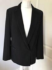 Gorgeous Whistles Black Smart Blazer Jacket UK 10 Worn Twice