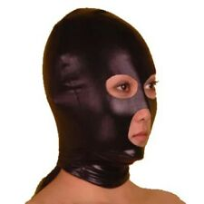 Black stretch HOOD with eye & mouth opening HO-18-LA, FREE UK DELIVERY