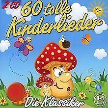 60 Tolle Kinderlieder (2 CDs) von Kiddy Club | CD | Zustand neu