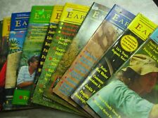 EARTH GARDEN self-sufficiency magazine bulk lot 10 issues no's80's & 90's pb B59