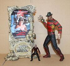 Movie Maníacos Americanos piedespués Variant freddy krueger Action Figure McFarlane Toys 1998