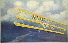 Cartolina Aviazione - Uscendo Dalle Nubi Aeroplani Caproni - (Tenente Amerigo Co