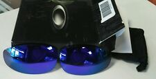 OAKLEY JULIET VIOLET IRIDIUM AUTHENTIC REPLACEMENT LENSES FROM CUSTOM CUT OEM