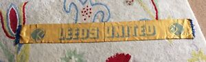 Vintage 1970's Leeds United Scarf. Loved Condition