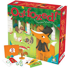 Outfoxed! A cooperative whodunnit board game by Gamewright