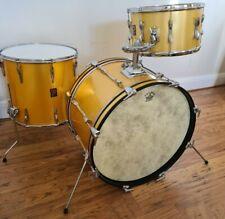 Vintage Premier Drum Kit Mahog Shells