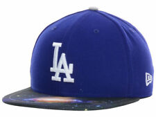 Los Angeles Dodgers New Era 59FIFTY MLB Galaxy Brim Fitted Cap Hat - Size: 7 1/2