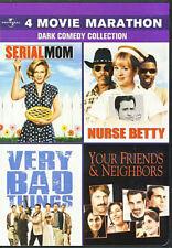 4 Movie Marathon Dark Comedy (Serial Mom/Nurse New DVD