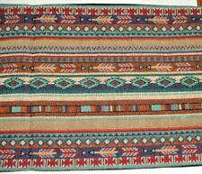 """Table Runner Southwestern Woven 13x72"""" Great Quality Native Blanket  #12086"""